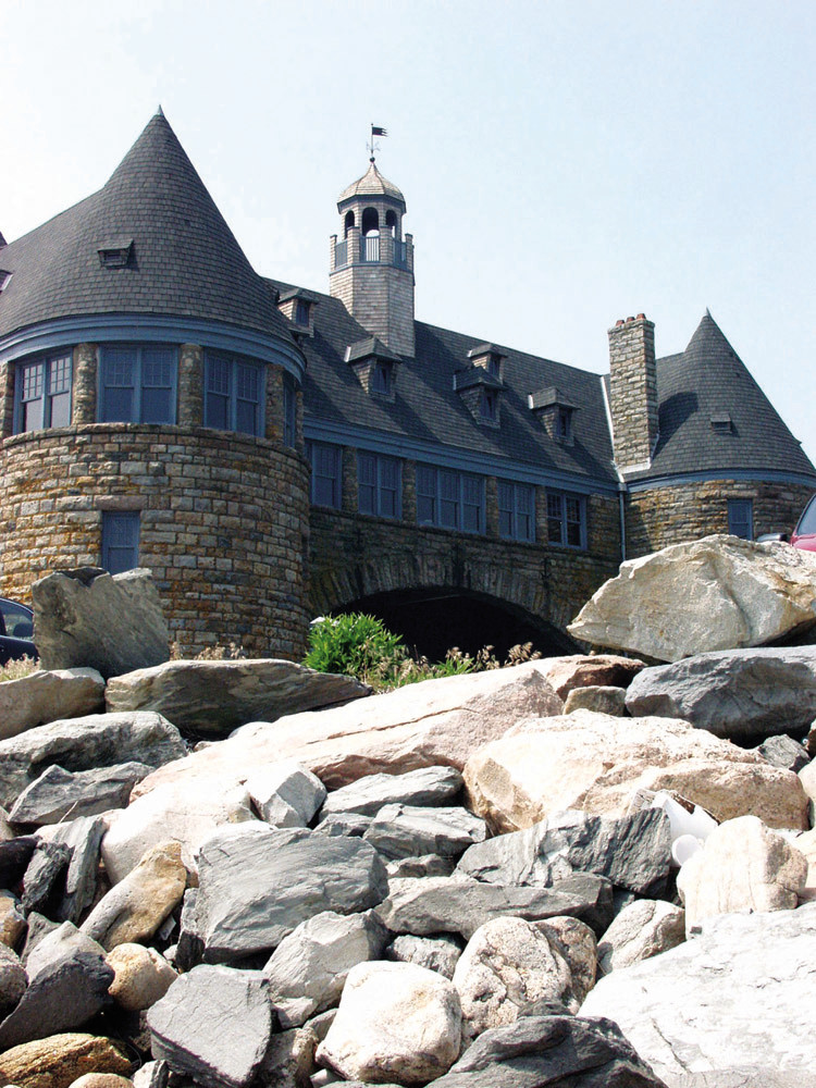 Restorations to the Narragansett Towers will help preserve the historic landmark for future generations