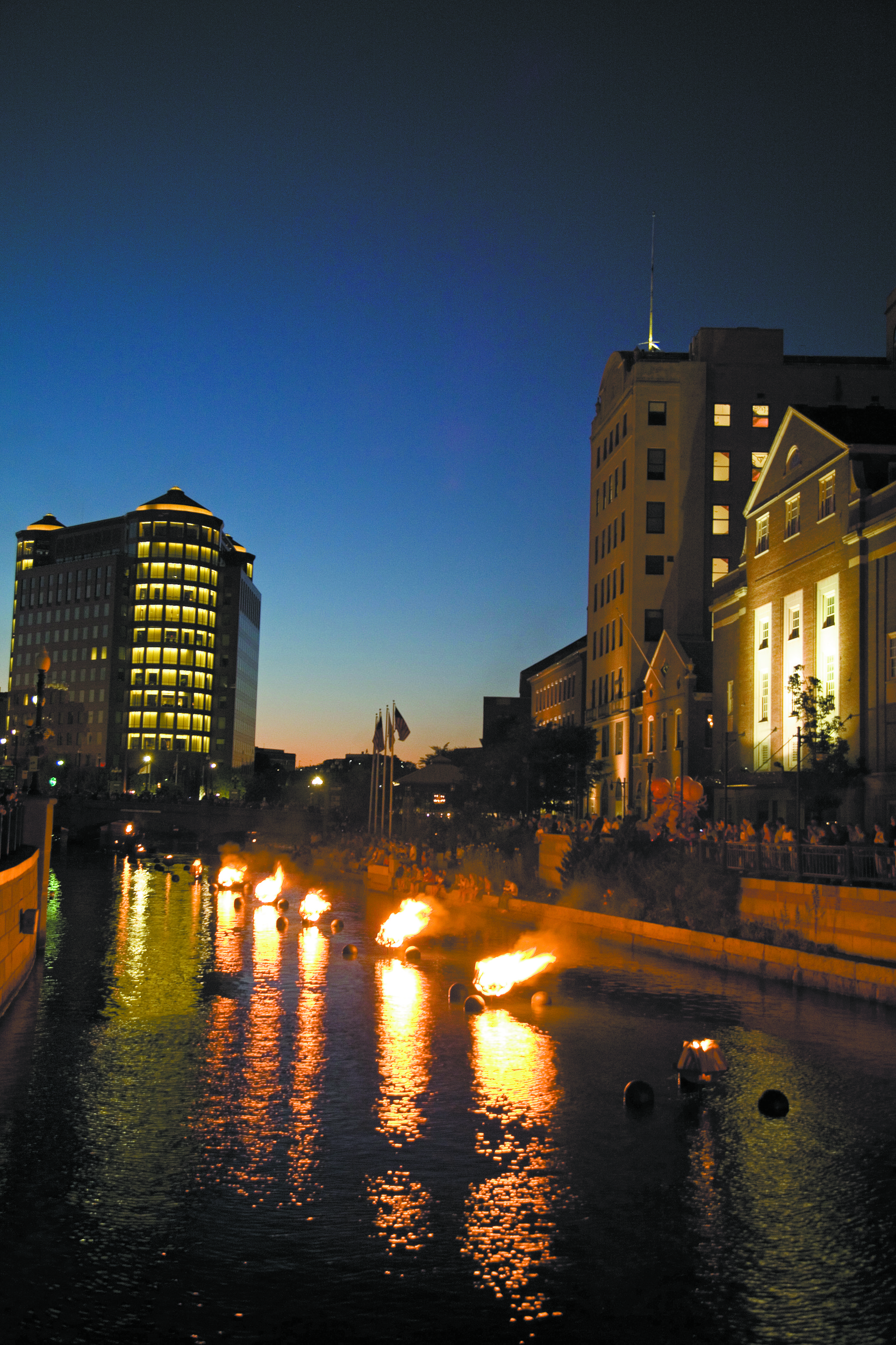WaterFire will have a basin lighting this weekend