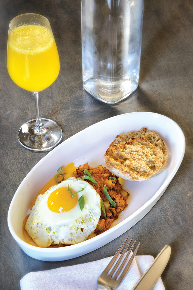 Simone's in Warren uses a wood-fired forno to create their unforgettable brunch