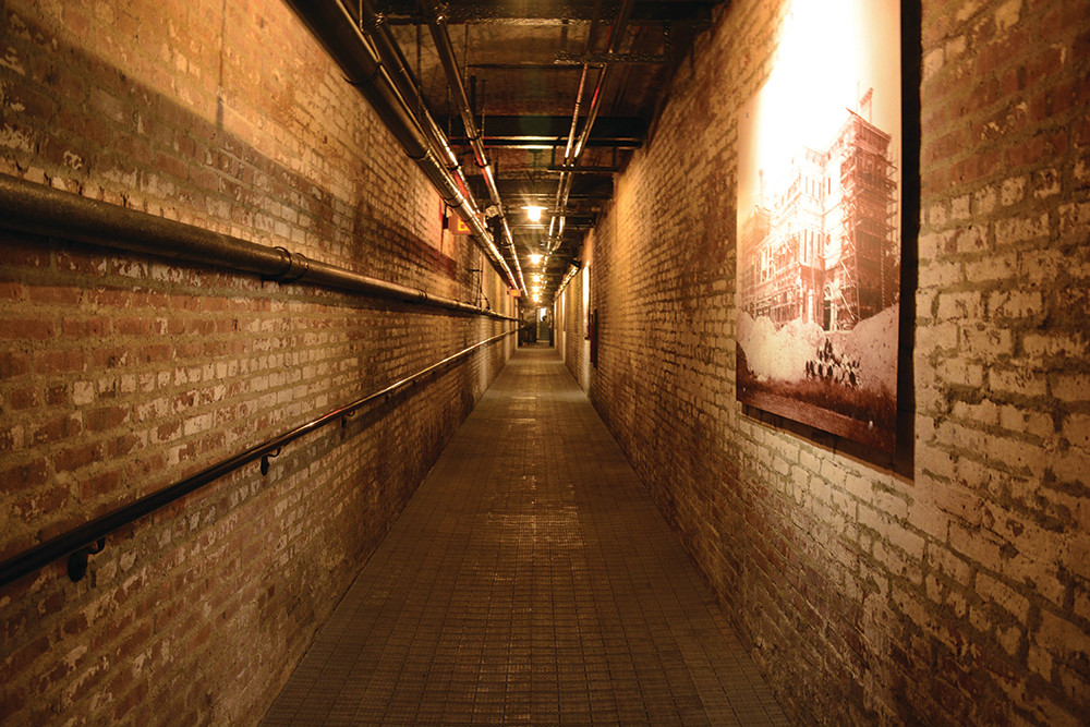 Explore the newly opened tunnels beneath the glamorous Vanderbilt mansion in Newport