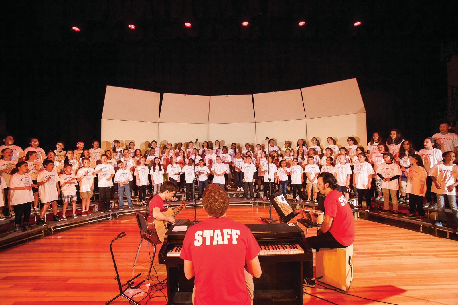 The East Providence Kids Rock Chorus brings pop music and attitude to their performances