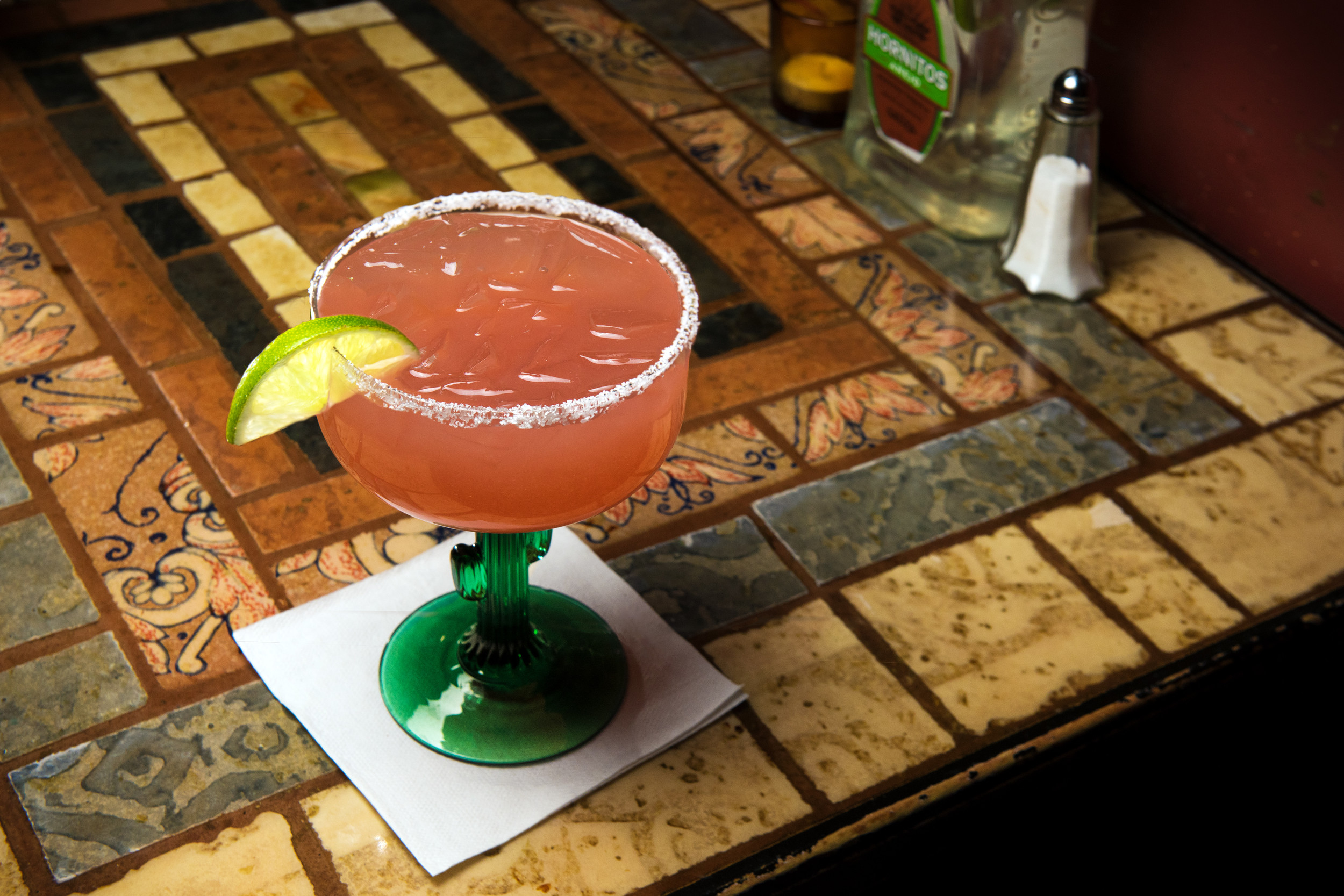 "The off-menu ""mezcalrita"" at Don Jose Tequilas balances smoky mezcal with fresh lime juice"