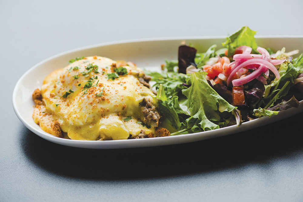 Shepherds Pie Benny at Dante's Kitchen