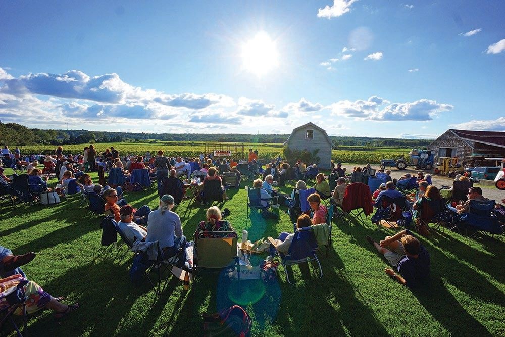Westport Vineyards outdoor concerts