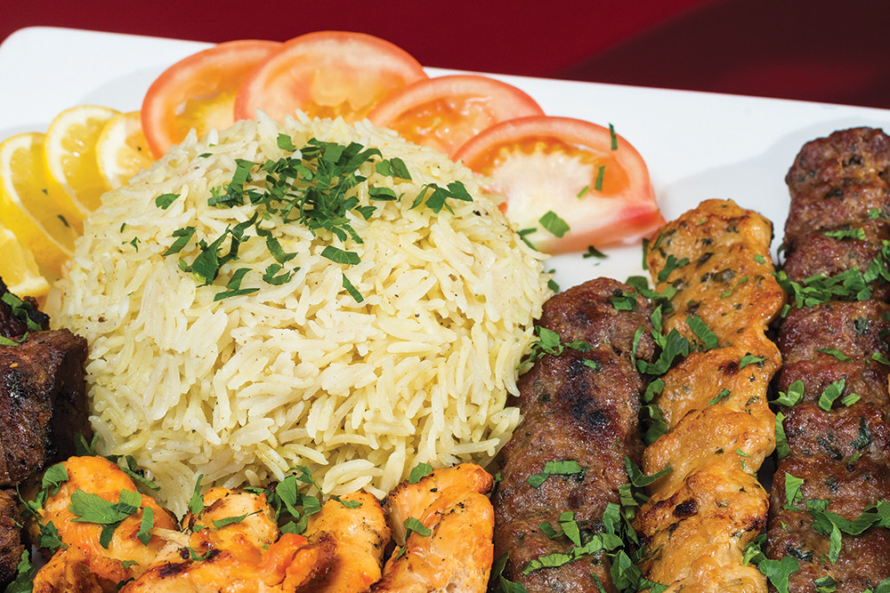 Mixed Kebab – beef, kofta and chicken