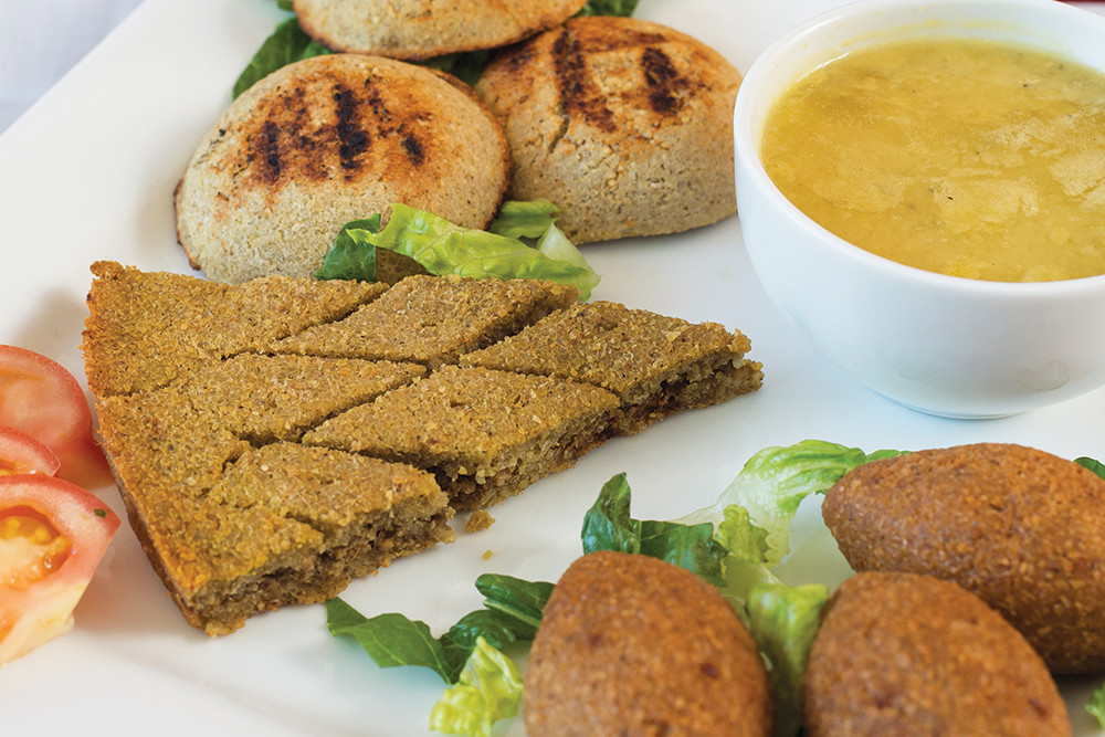 Mixed Kibbeh Platter