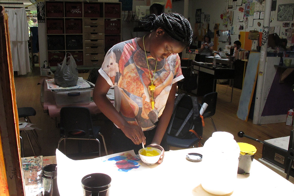 For 20 years, city teens have been expressing their creativity at New Urban Arts