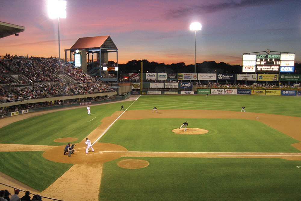Catch a PawSox game at McCoy while you still can