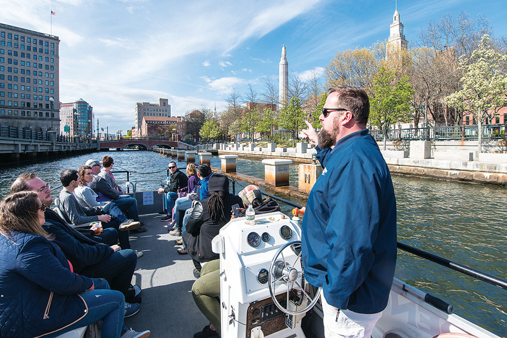 Take a scenic Providence River Boat Company Cruise, just don't forget to grab a drink from the Hot Club first