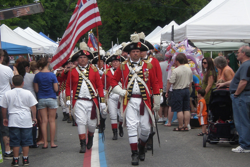 Gaspee Days in Pawtuxet Village, June 10-11