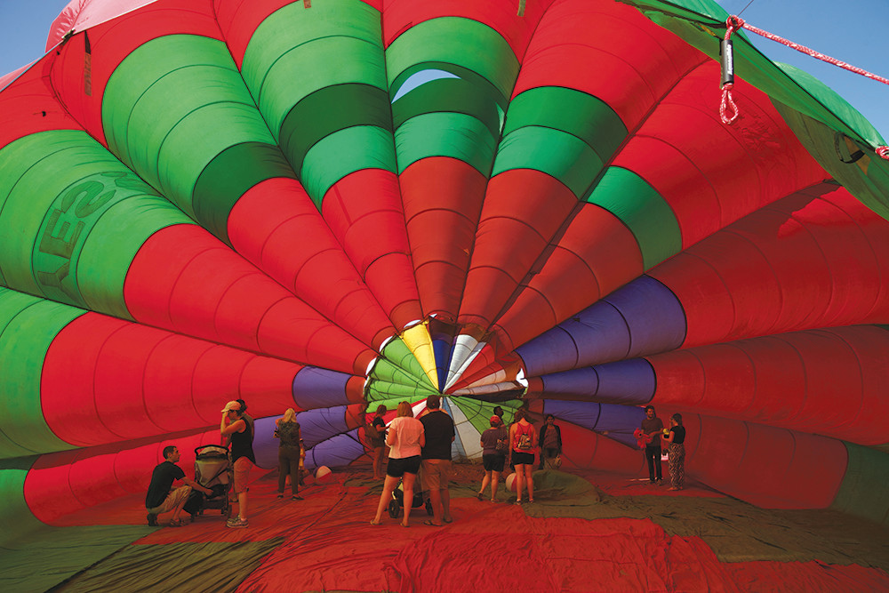 Soar into the South County Hot Air Balloon Festival, July 21-23