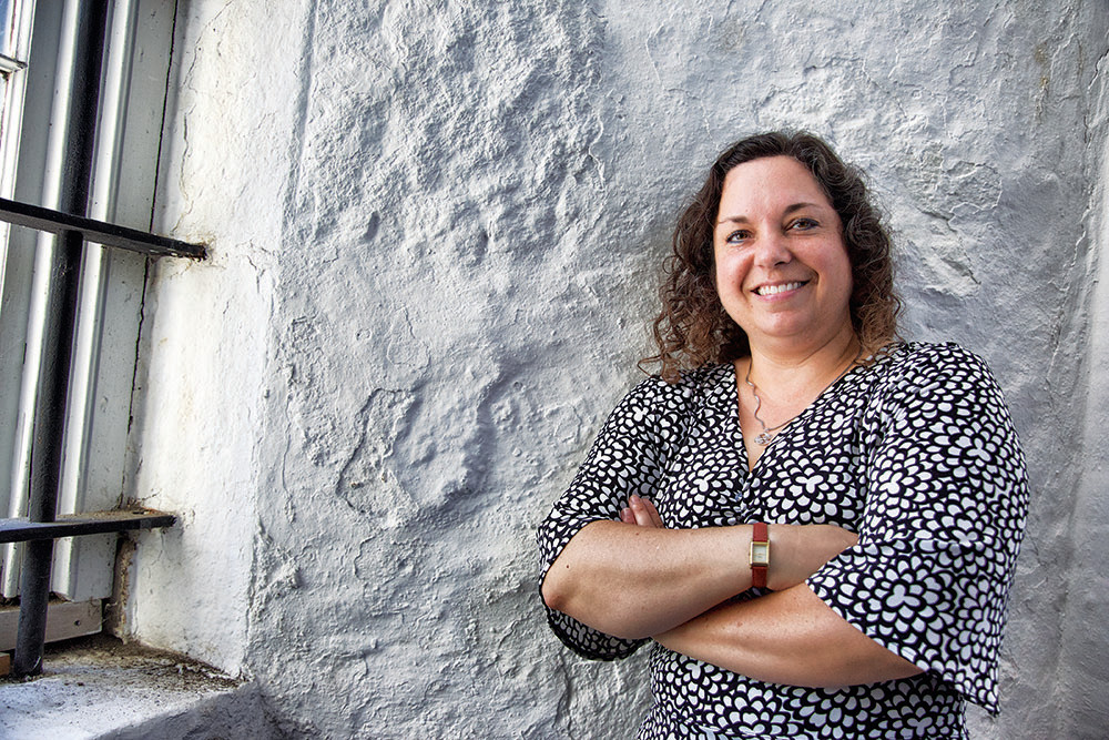 Catherine Zipf is the new head of the Bristol Historical & Preservation Society