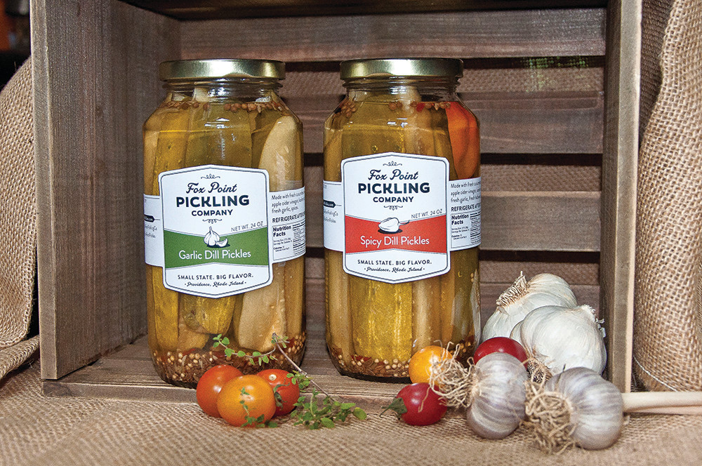 Find locally made products by companies like Fox Point Pickling Company all over Rhode Island