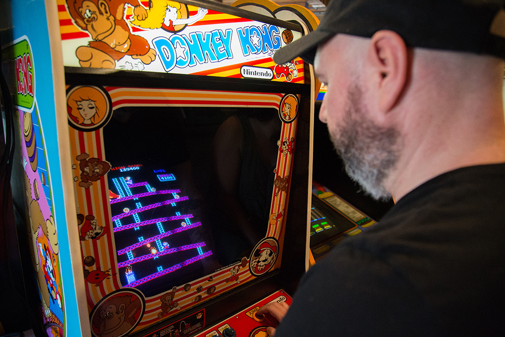 Get your 8-bit and craft beer on at Shelter Arcade Bar