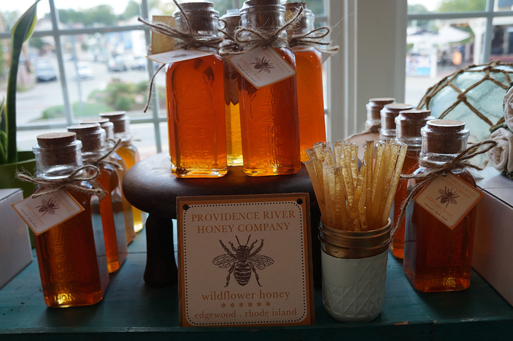 Pound of raw local honey, $17