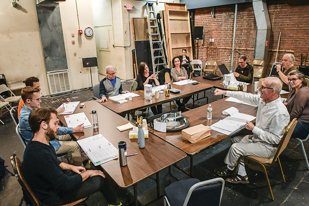 A table read of Trinity Rep's upcoming production of Death of Salesman