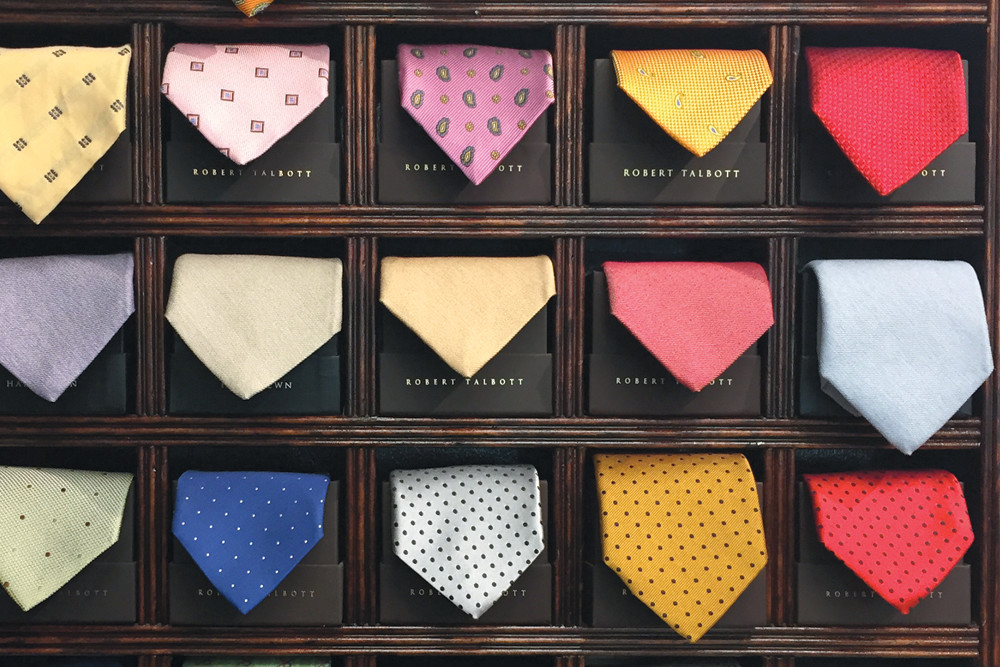 Robert Talbott Silk Ties, $98–$150