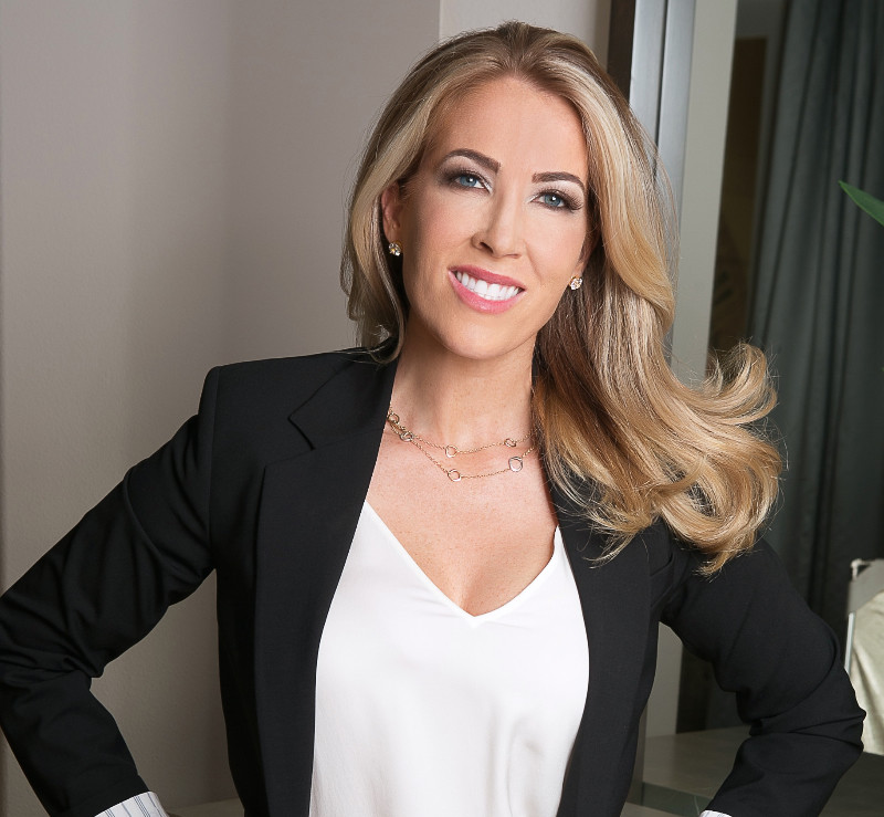 Kylie McCollough of the new Bravo show Real Estate Wars