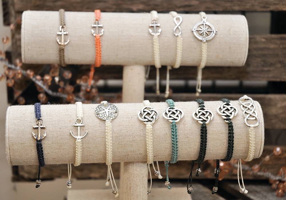 Bracelets by Elizabeth Lee, $15