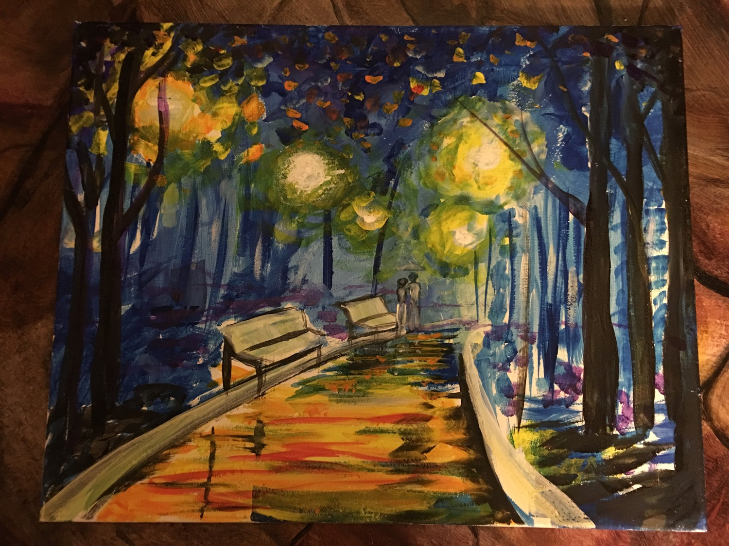 Stroll in park valentines day paint night in east greenwich the bay thebaymagazine com