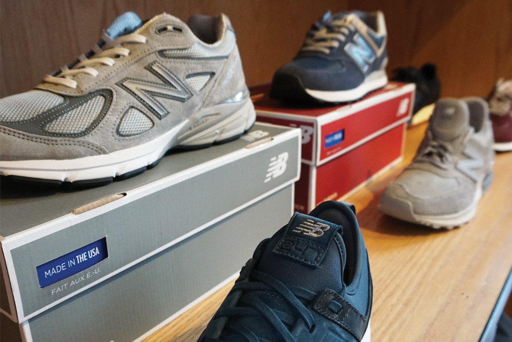 New Balance sneakers, $80–$170