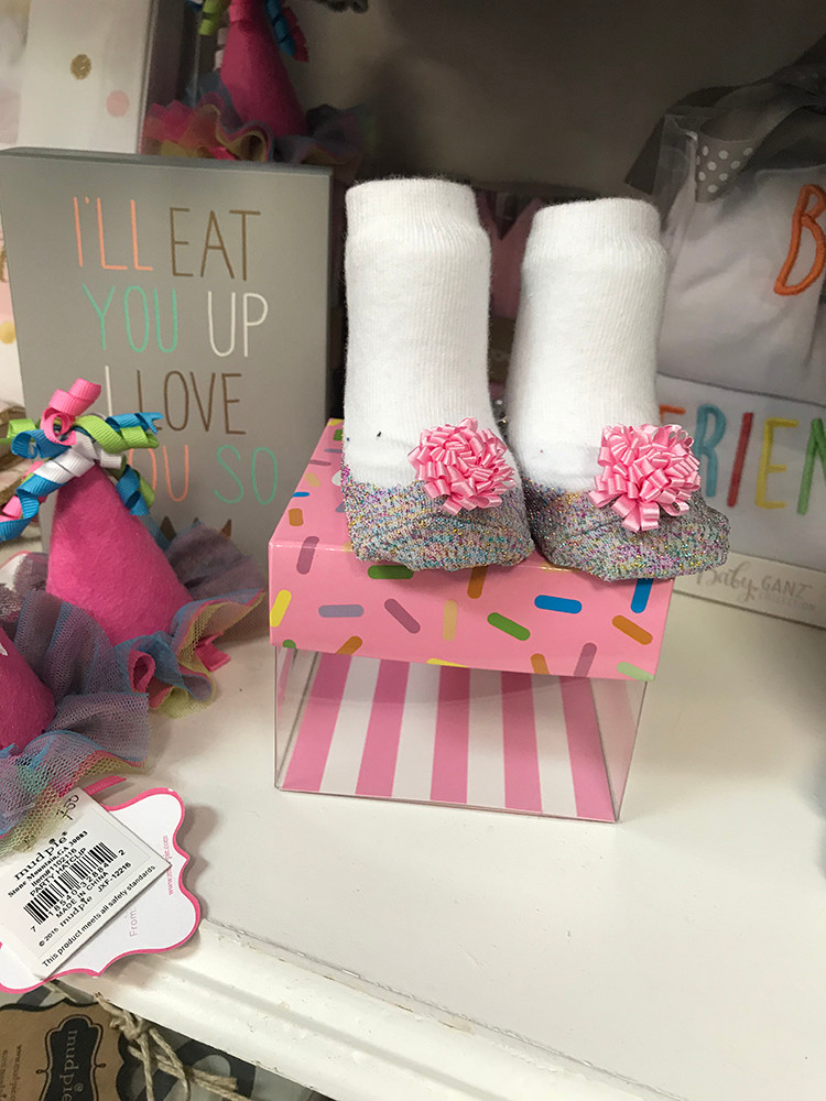 Infant socks, $16