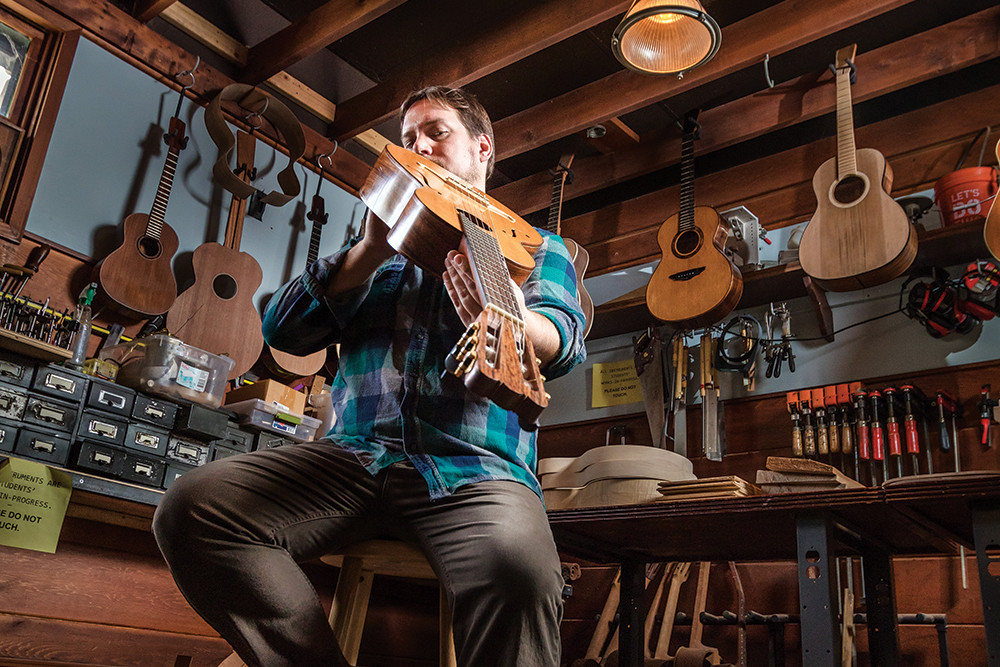 """In the end, a handmade guitar is going to sound that much better."" –Dan Collins"