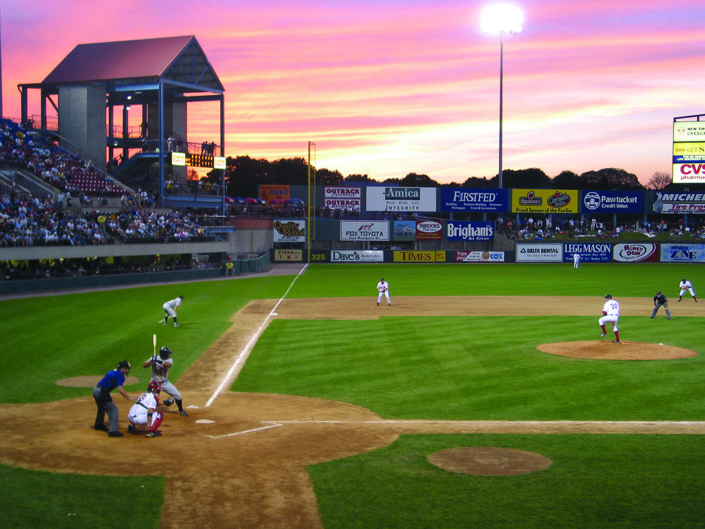 Catch a Pawsox Game at McCoy Stadium