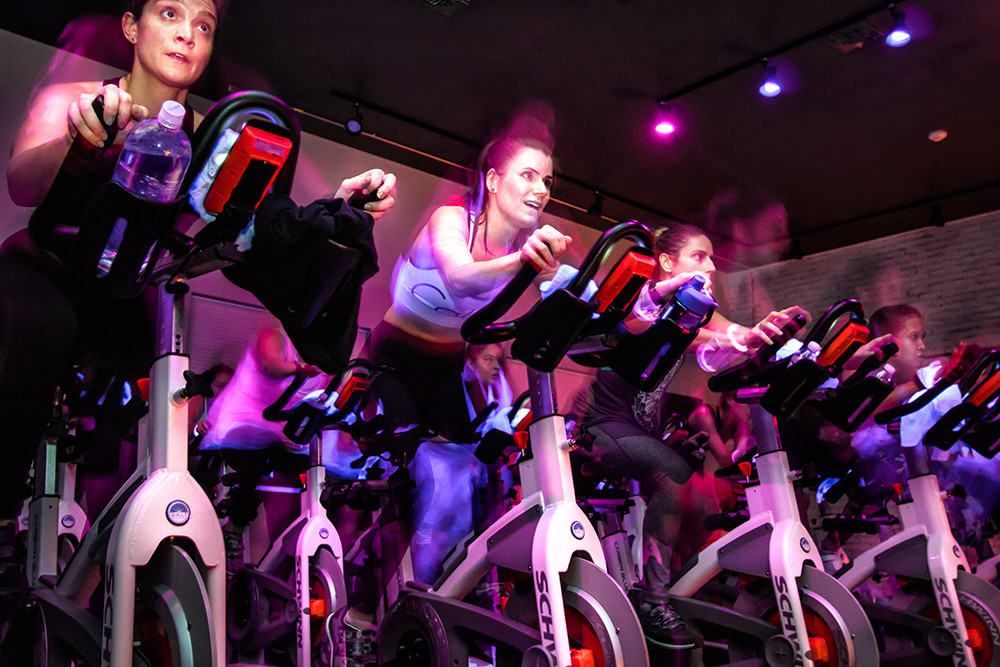 Indoor Cycling at Salt Cycle Studio in Tiverton