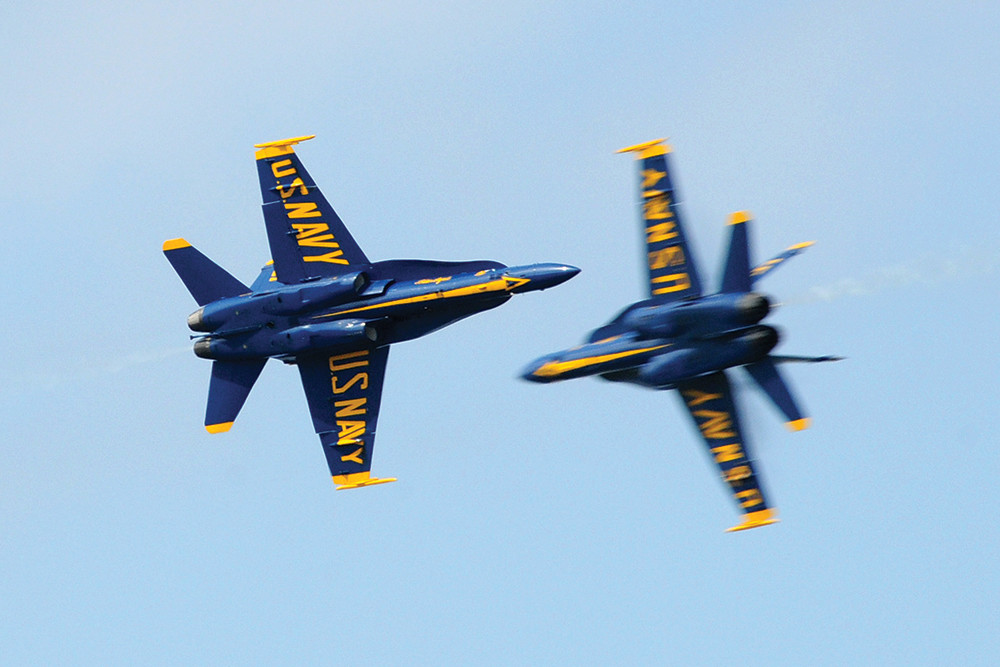 The Rhode Island Air Show,  June 9-10