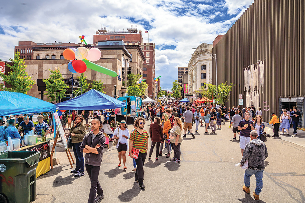 The 4th annual PVDFest takes over Downtown Providence for four fun days of music, dance, food, and art, June 7-10.