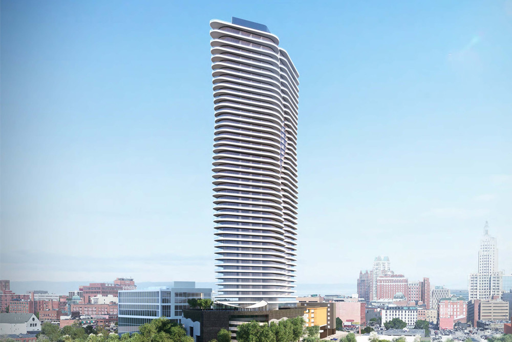 Artist's rendering of the Hope Point Tower