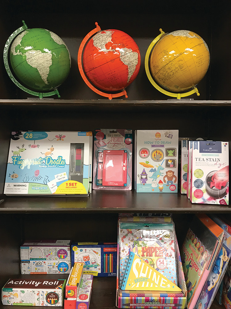 Kids crafts and globes by Two's Company: $7.95-$48
