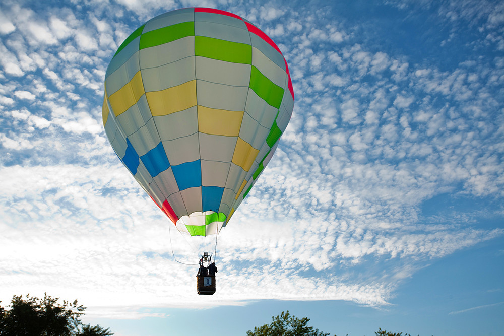 The South County Balloon Festival soars into it's 40th year with the annual beloved fleet of hot air balloons and family fun in Kingston, July 20-22