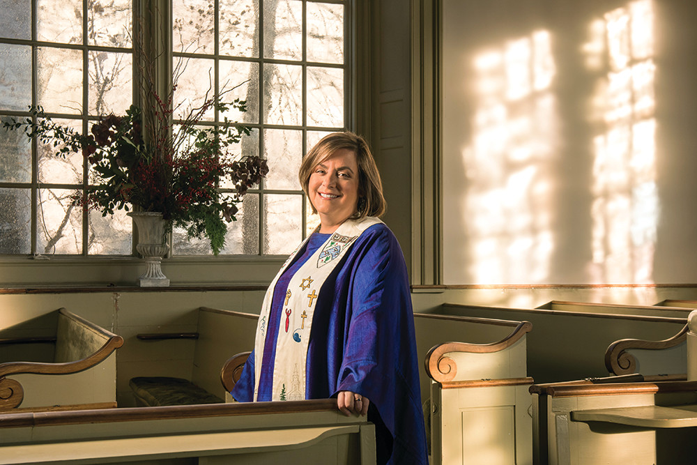 Reverend Liz Lerner Maclay wants anyone to feel welcome in her parish, documented or not