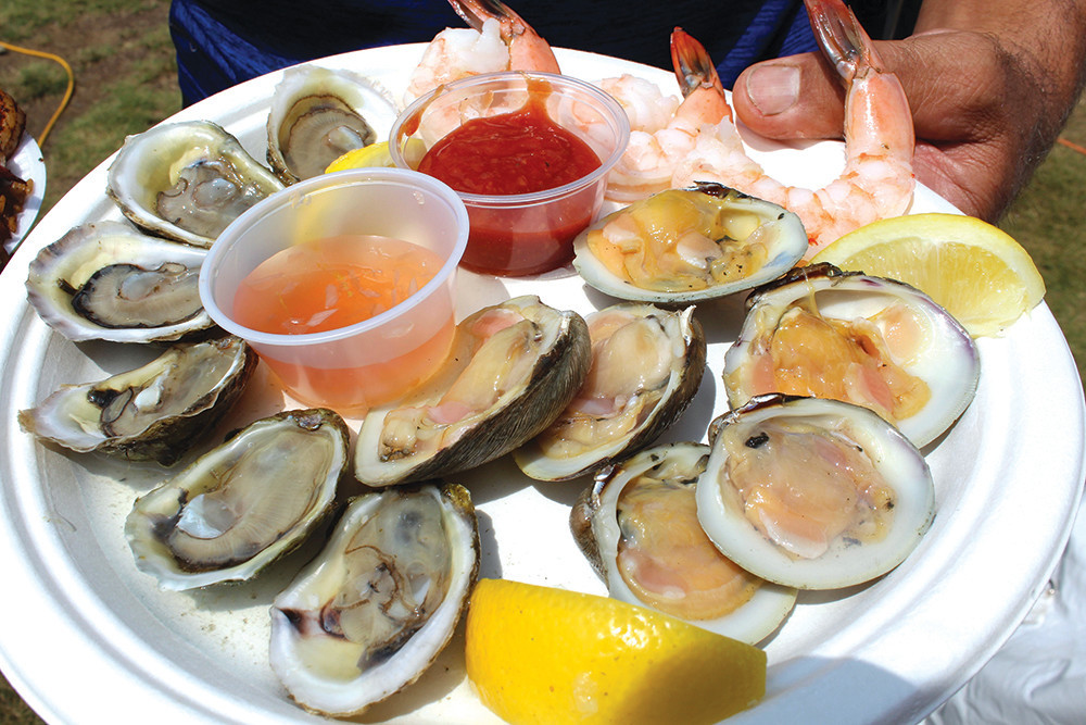 Enjoy a delicious celebration of local seafood at the 34th annual Charlestown Seafood Festival, August 3-5
