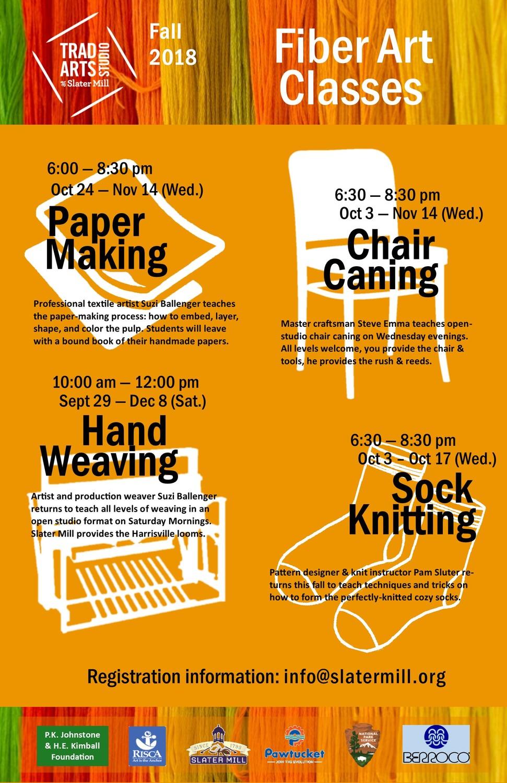 Trad Arts Studio at Slater Mill: Sock Knitting Class   The Bay