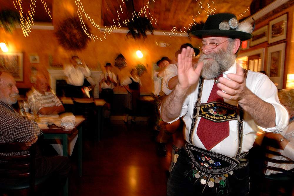 Oktoberfest at Redlefsen's in Bristol, every Wednesday and Thursday through the end of October