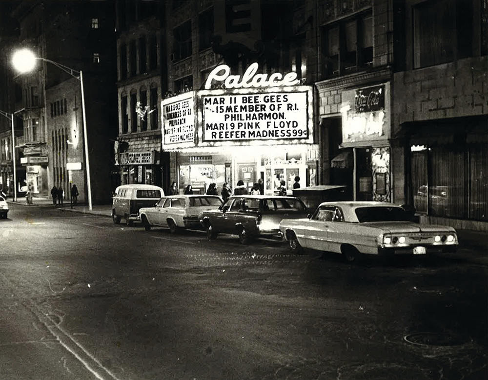PPAC looks back on 90 years of its home, the Loews Theater Building, seen here in the late '70s