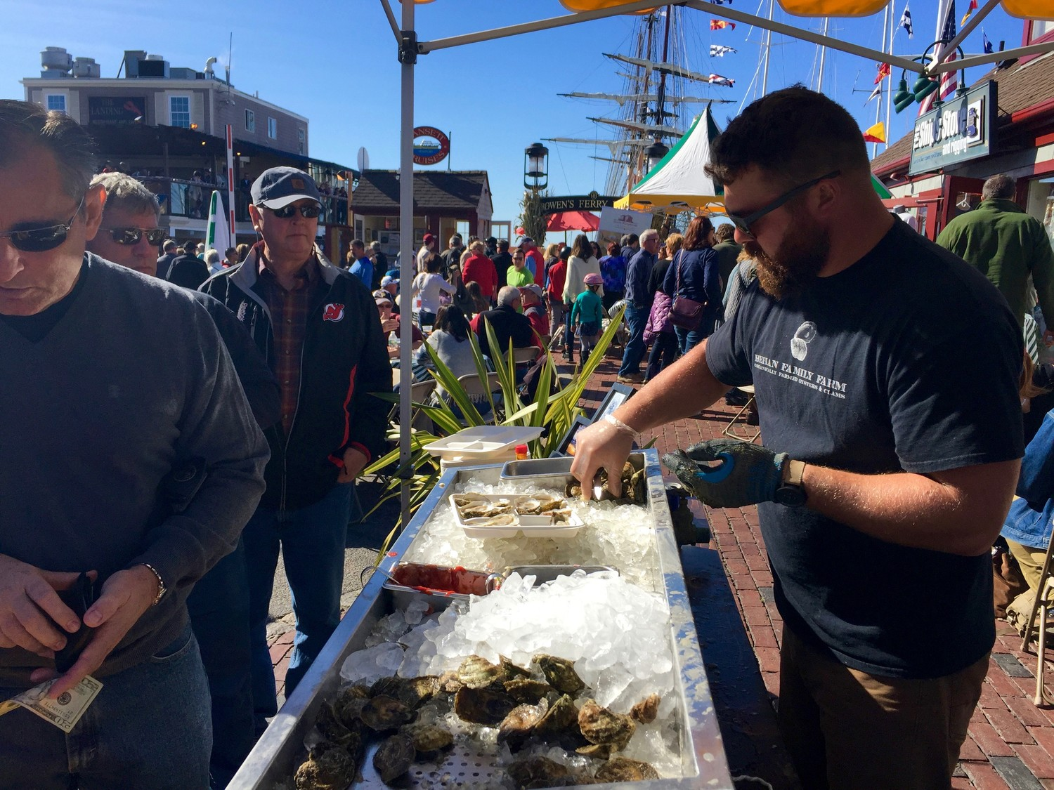 The Bowen's Wharf's 28th Annual Seafood Festival returns to Newport with a delicious array of local seafood, October 13-14