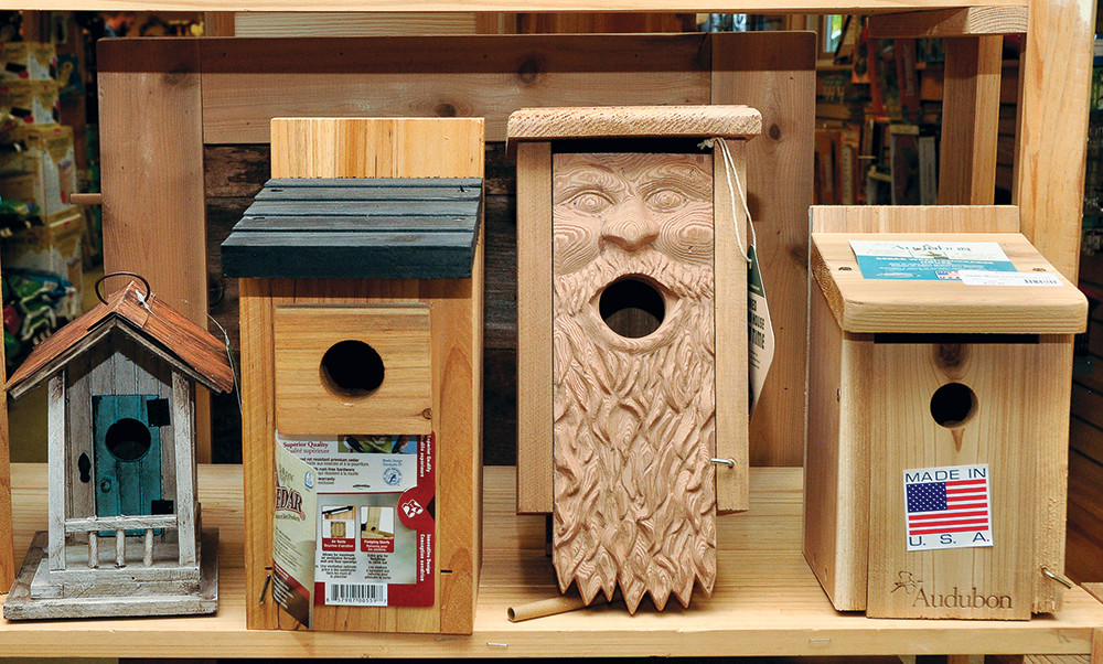 Bird houses, $25.00 and up