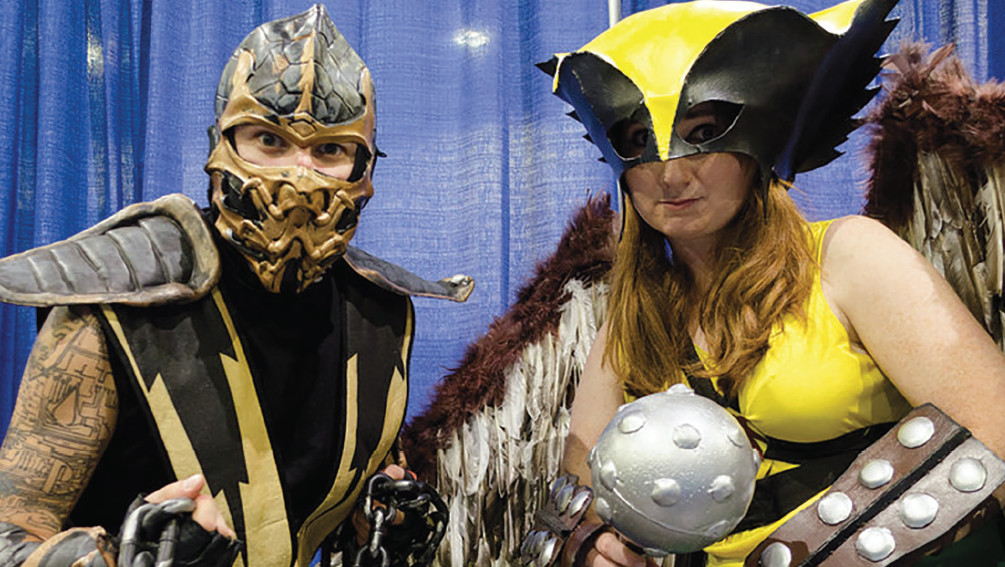 Comic, movie, & science fiction fans of all kinds prepare to be delighted as the RI Comic Con returns to the RI Convention Center, November 2-4