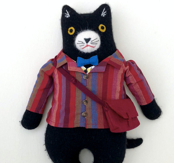 "Mimi Kirchner's woolen ""art dolls""  are the perfect present for the child or inner-child in your life, with delightfully strong Wes Anderson vibes."