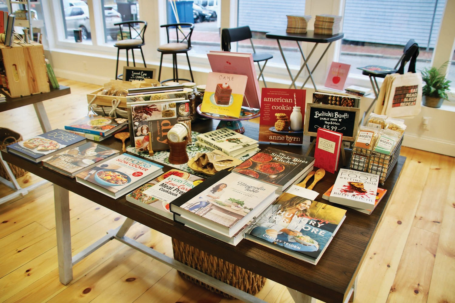 Books and local food products make for a delicious pair at Ink Fish Bookstore