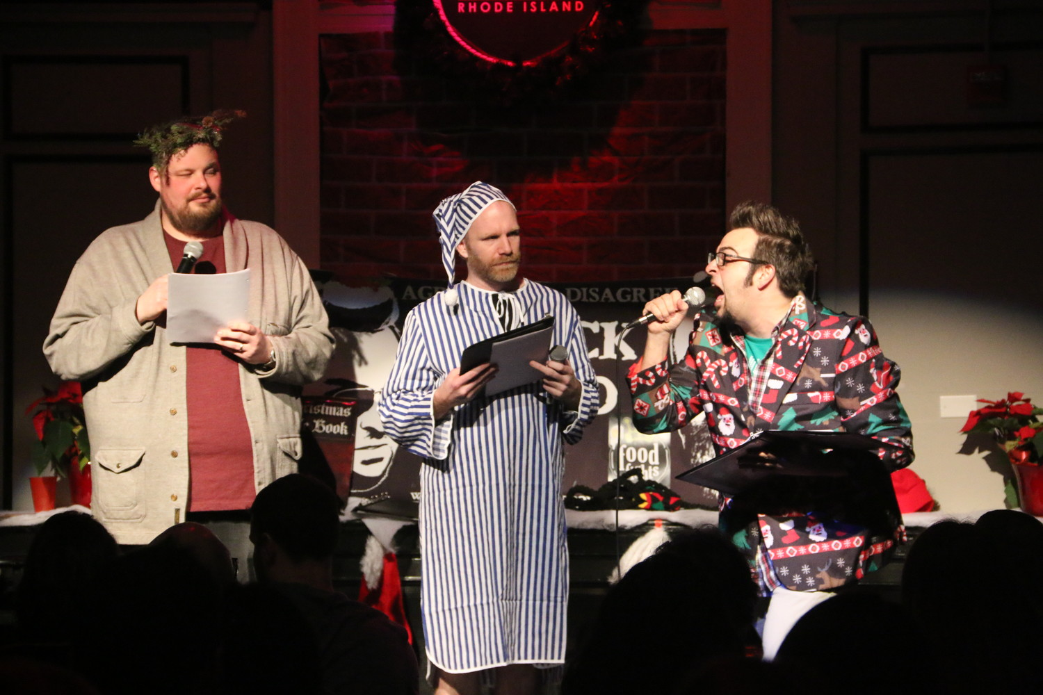 "The holidays get hilarious with live comedy during the return of ""Chuck and Brad's (EVEN BETTER) Best Christmas Show Ever"" at the Comedy Connection, December 16"