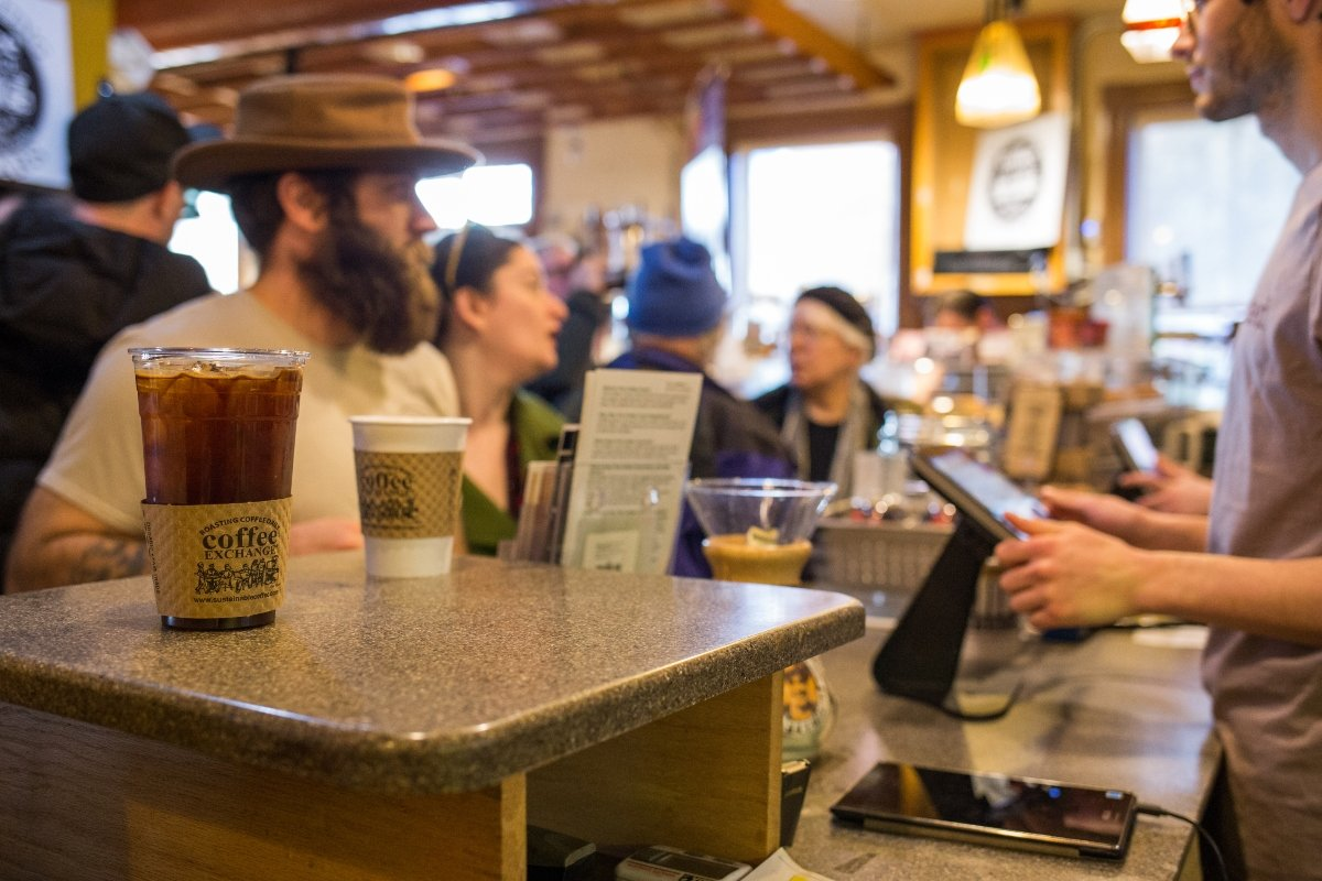 Coffee Exchange is a gathering place for Providence denizens