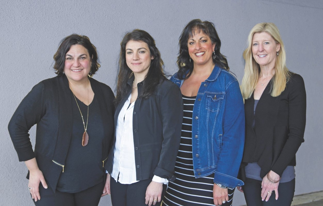 Leading Ladies 2019: Bethany Mascena Tracy, Cheryl Baker, Danielle Harbour & Caroline Maynard, Local Area Directors at N2 Publishing, serving all of RI