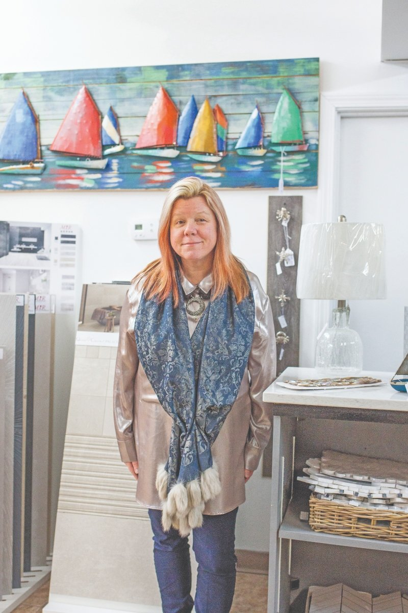 Leading Ladies 2019: Rebecca Traxler, Owner of Ocean Tile Gallery in Westerly