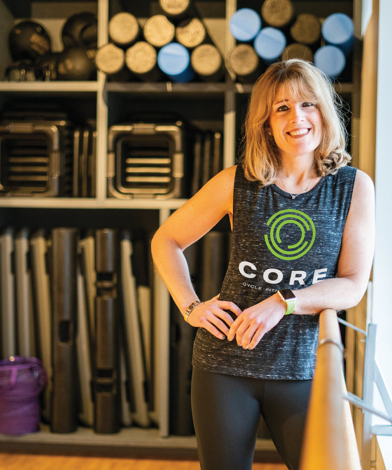 Leading Ladies 2019: Denise Chakoian, Fitness Expert/Owner of CORE in Providence and Pawtucket