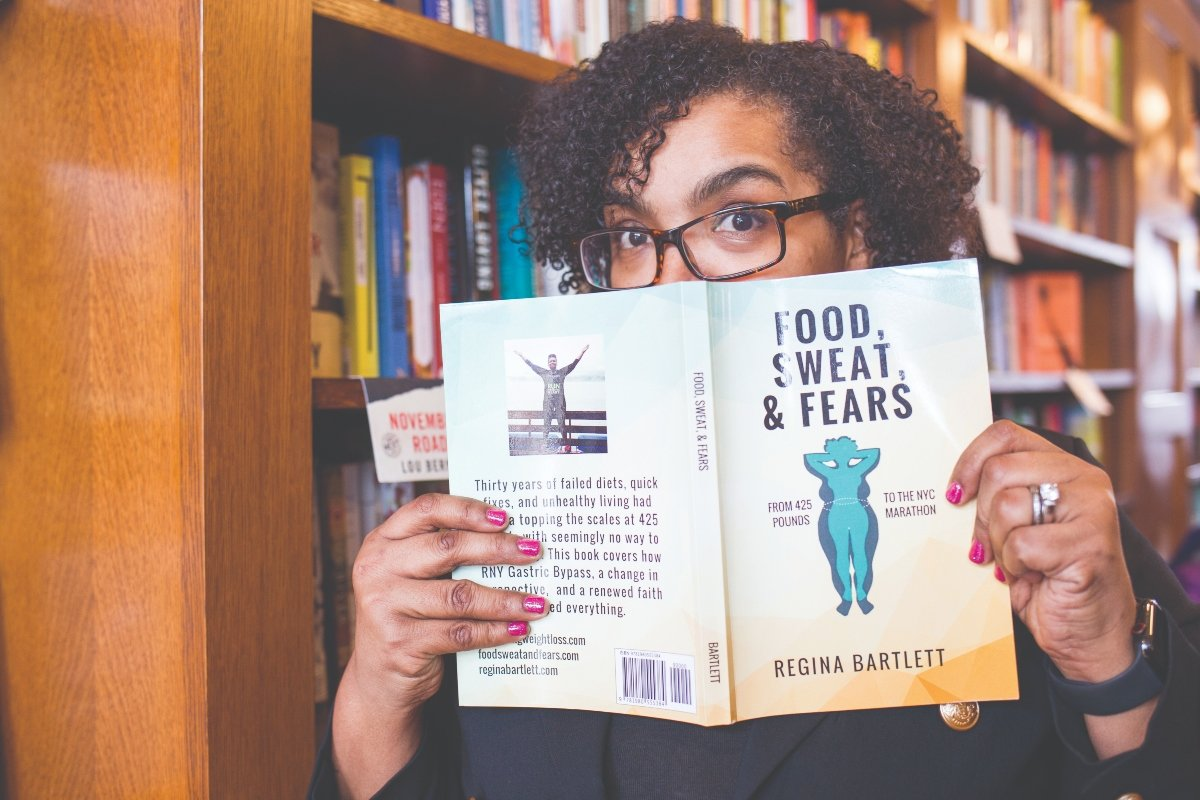 Regina is author of Food, Sweat & Fears
